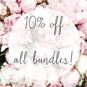 Other - 10% of all my bundles !!!😊😊
